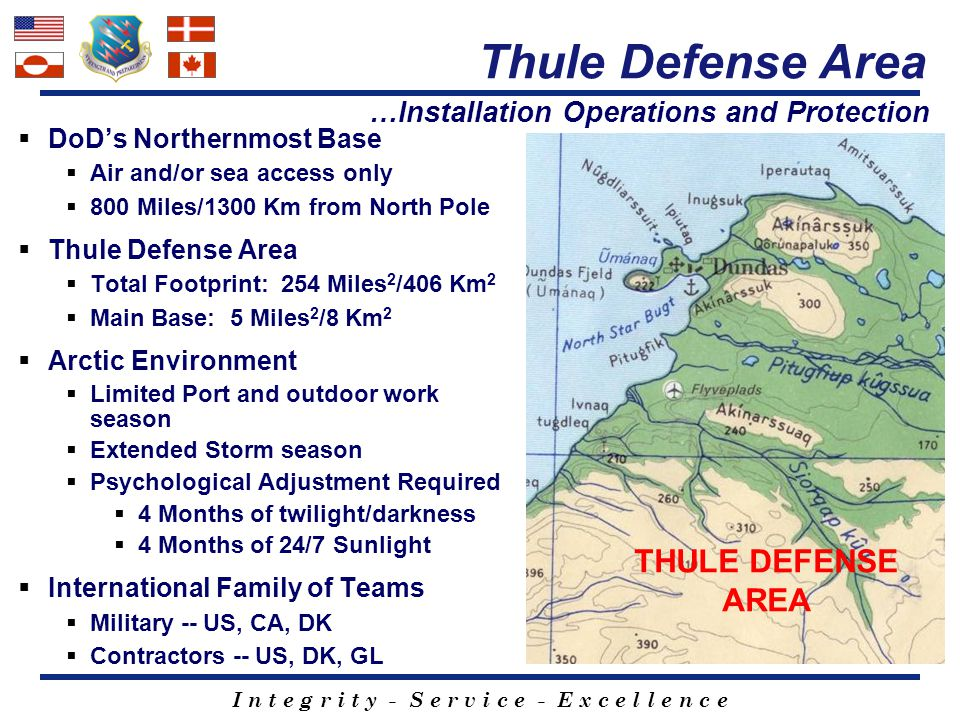 Thule Defense Area THULE DEFENSE AREA
