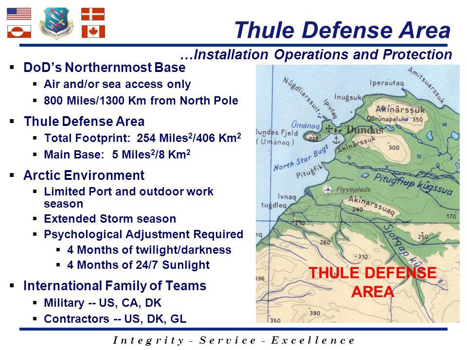 Thule Defense Area THULE DEFENSE AREA