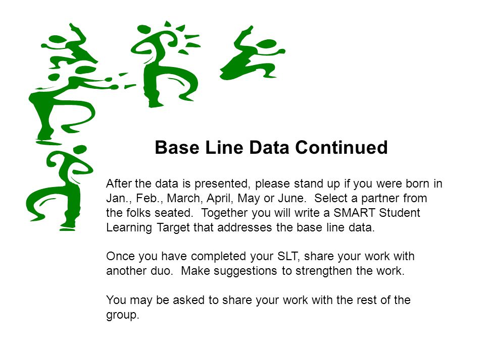 Base Line Data Continued