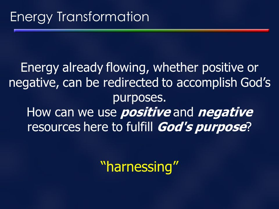 harnessing Energy Transformation