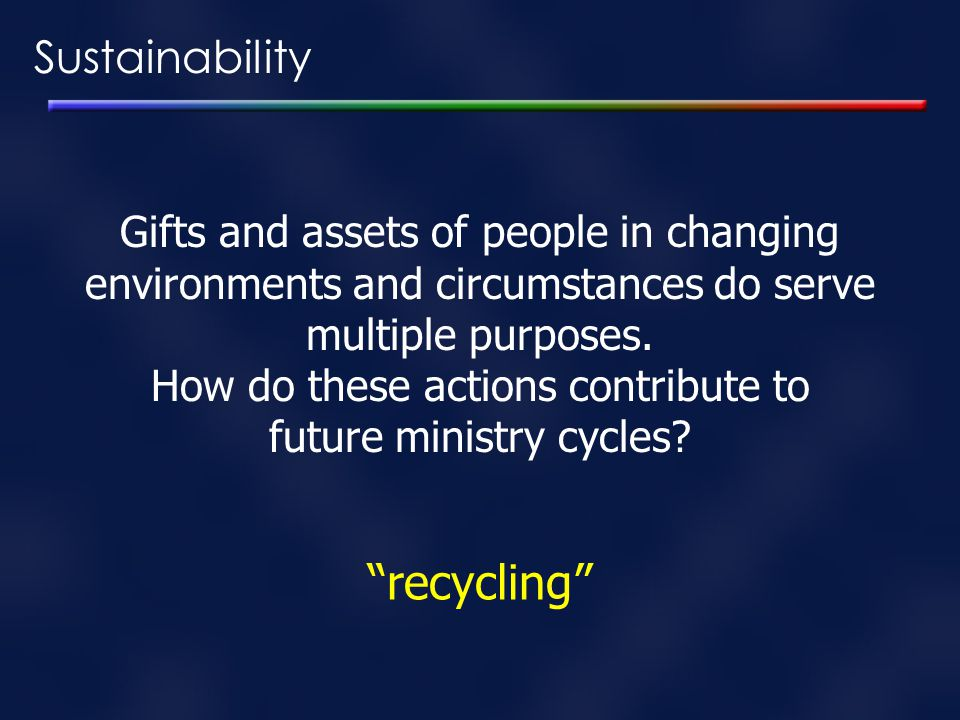 recycling Sustainability