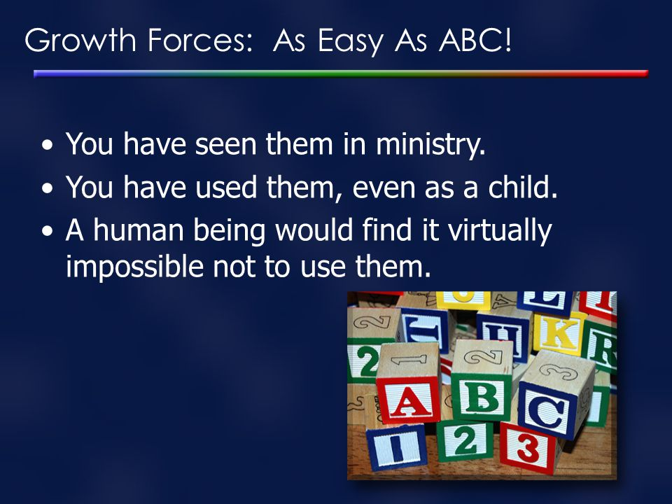 Growth Forces: As Easy As ABC!