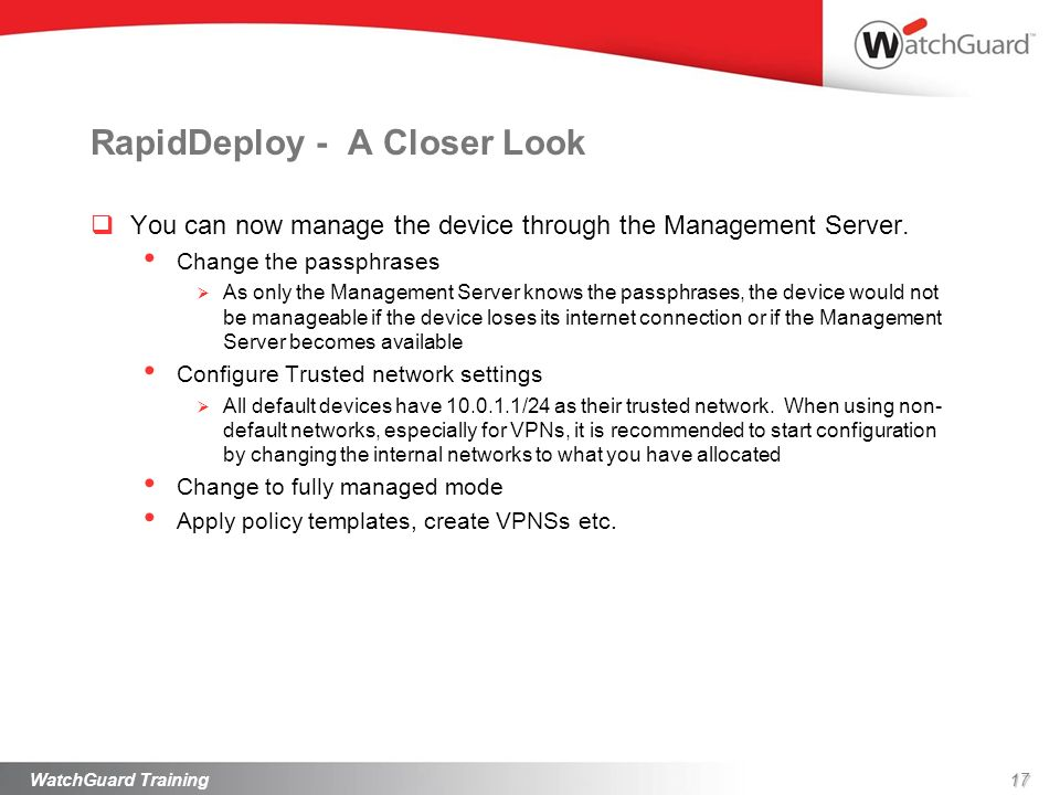 RapidDeploy - A Closer Look