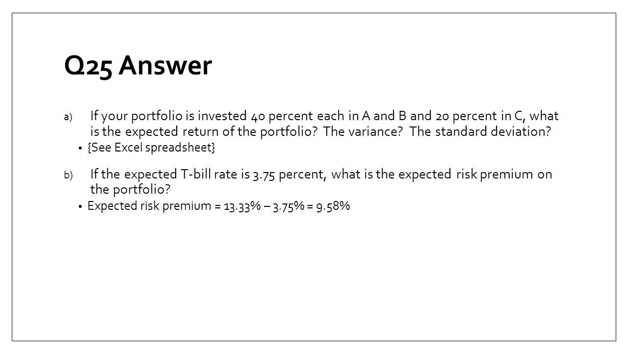 Q25 Answer