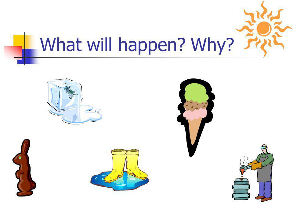 What will happen Why Here are some notes
