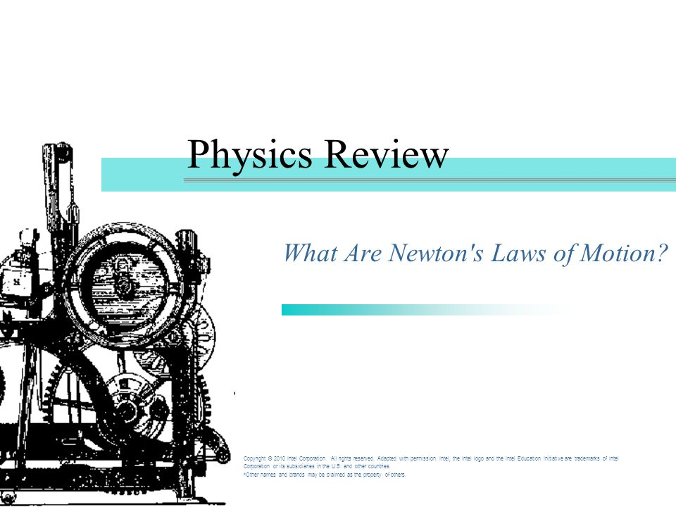 What Are Newton s Laws of Motion
