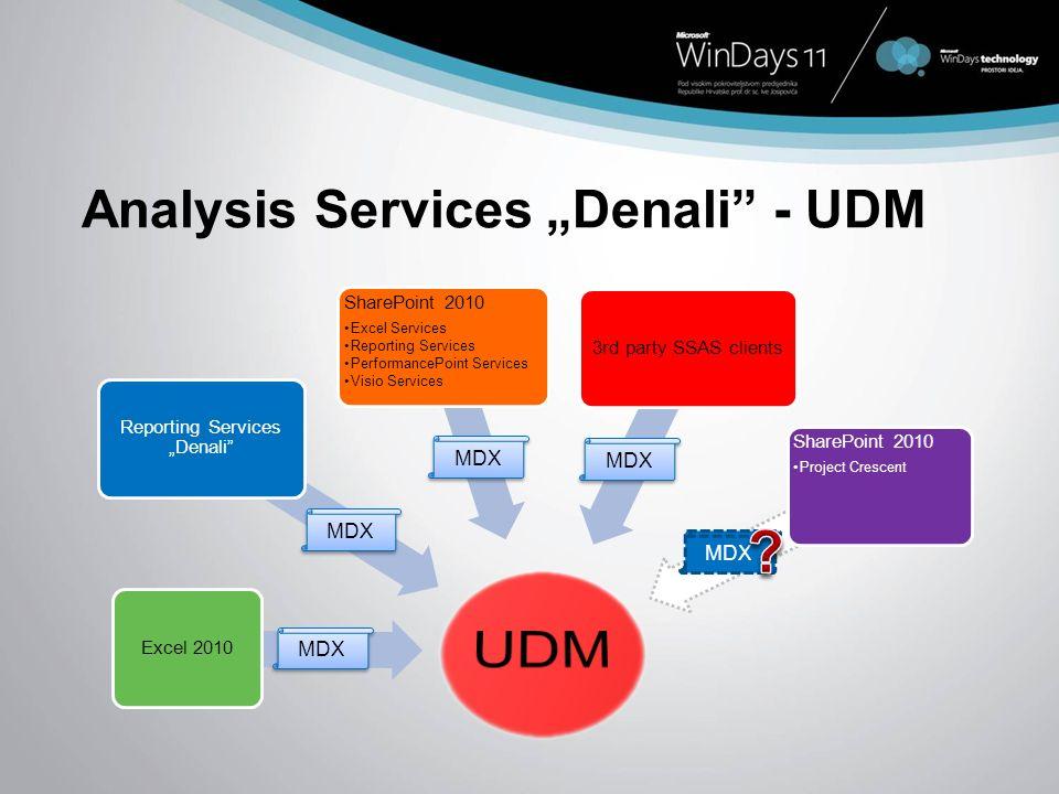 "Analysis Services ""Denali - UDM"