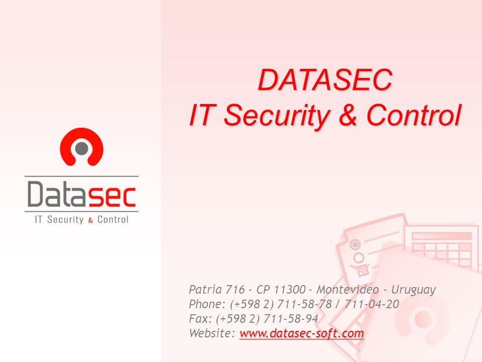 DATASEC IT Security & Control