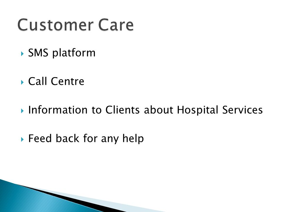 Customer Care SMS platform Call Centre