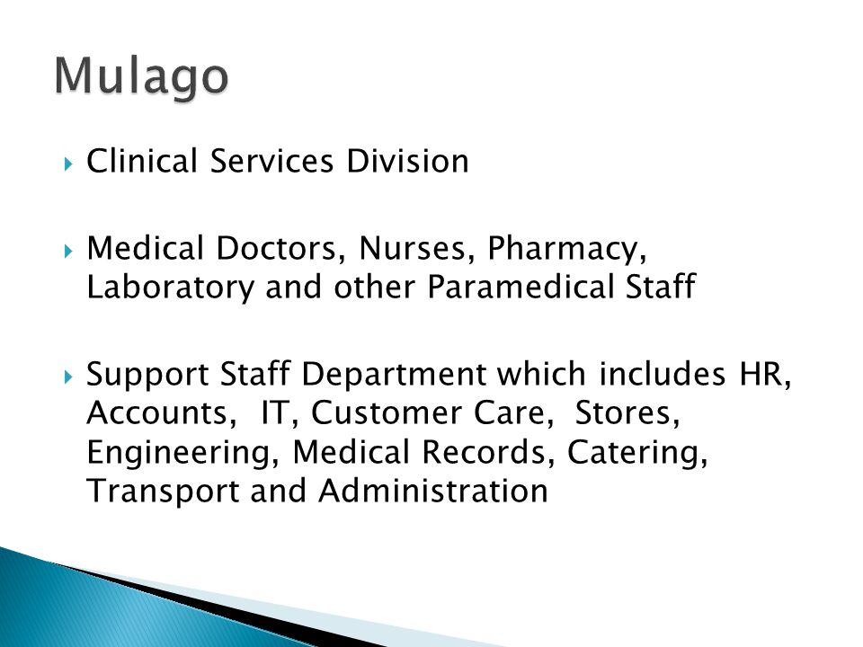 Mulago Clinical Services Division