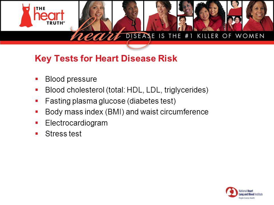 Key Tests for Heart Disease Risk