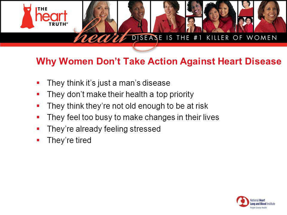 Why Women Don't Take Action Against Heart Disease