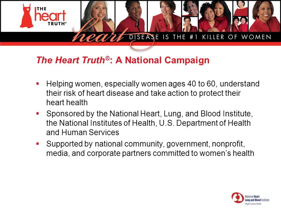 The Heart Truth®: A National Campaign