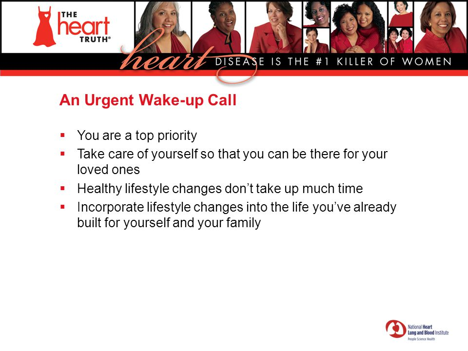 An Urgent Wake-up Call You are a top priority
