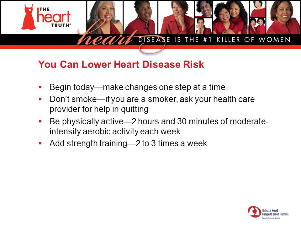 You Can Lower Heart Disease Risk
