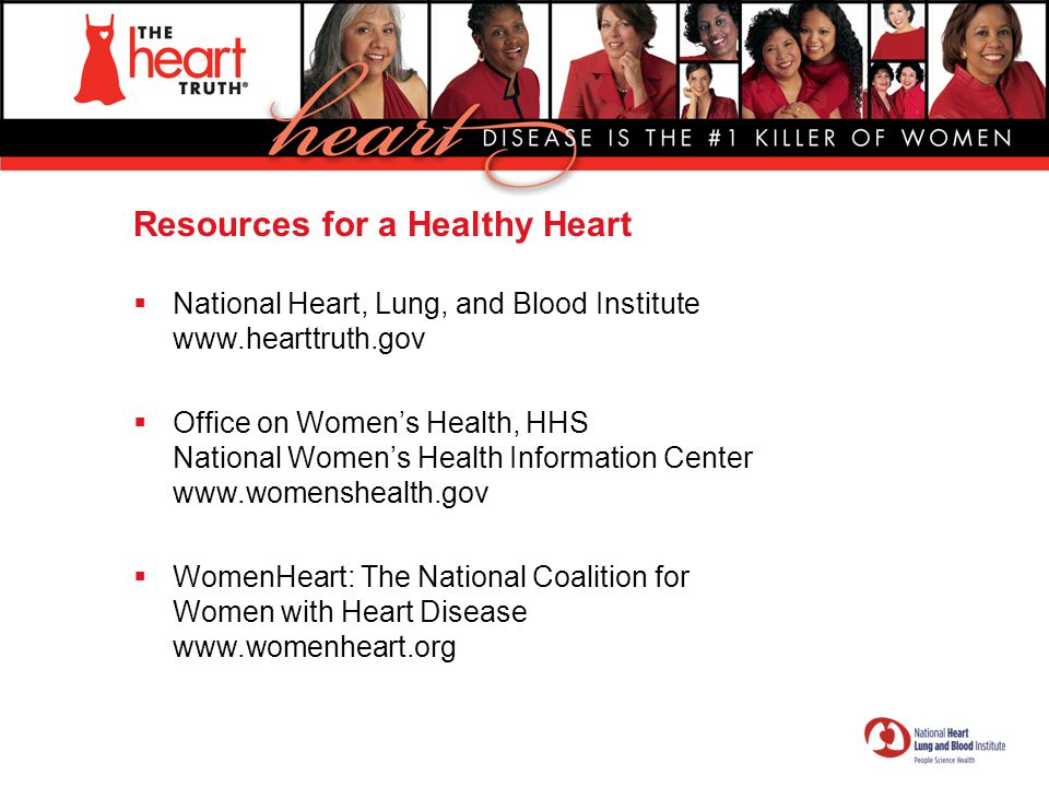 Resources for a Healthy Heart