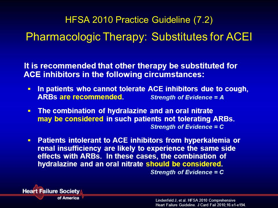 HFSA 2010 Practice Guideline (7