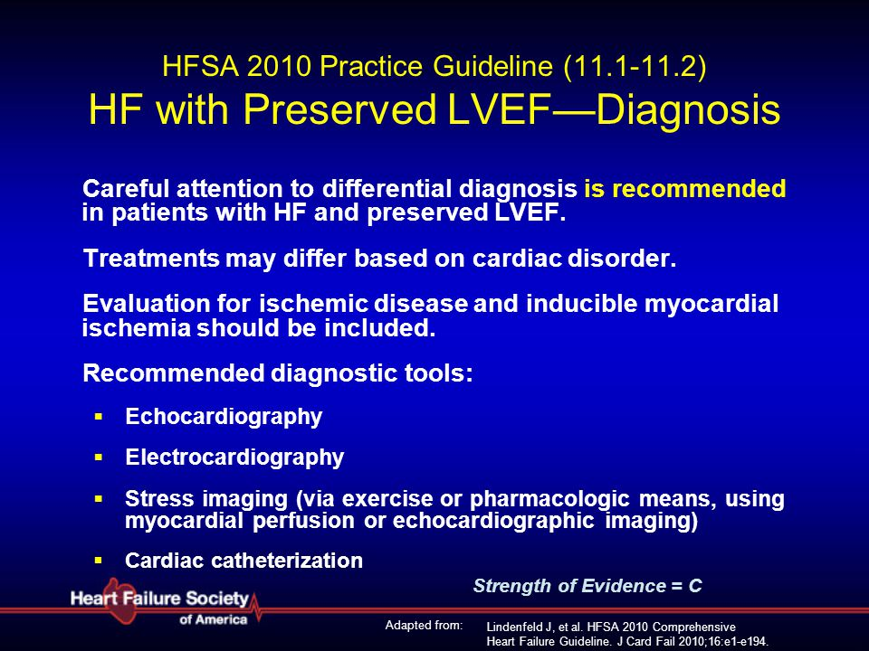 HFSA 2010 Practice Guideline (11. 1-11