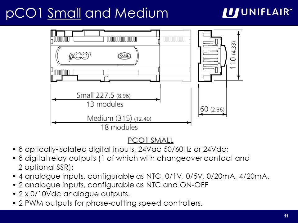 pCO1 Small and Medium PCO1 SMALL