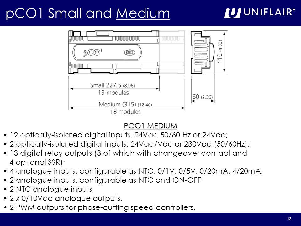 pCO1 Small and Medium PCO1 MEDIUM