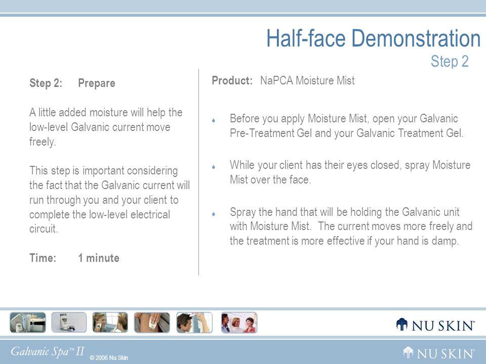 Half-face Demonstration