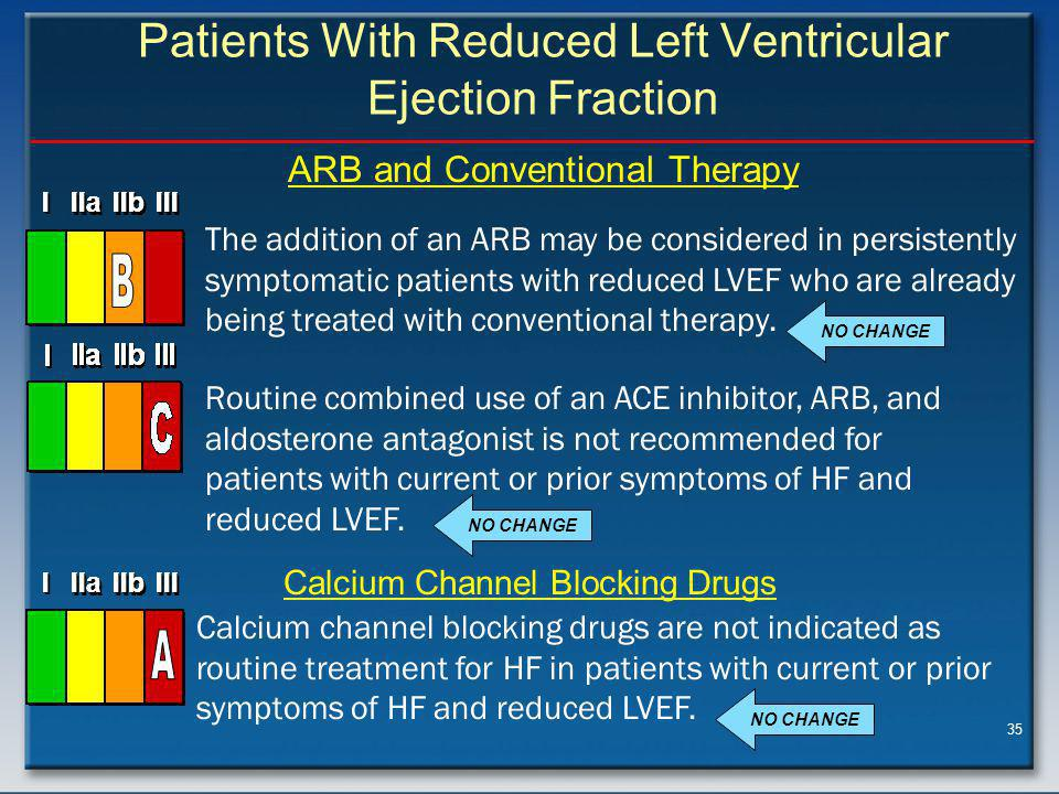 Patients With Reduced Left Ventricular Ejection Fraction (Continued)