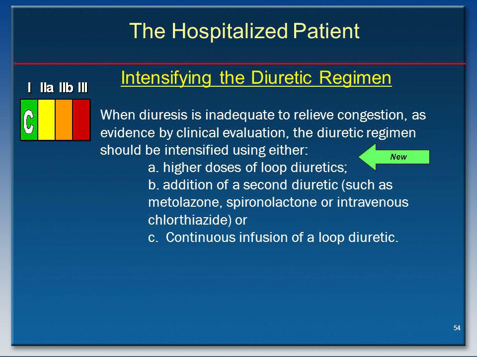 The Hospitalized Patient