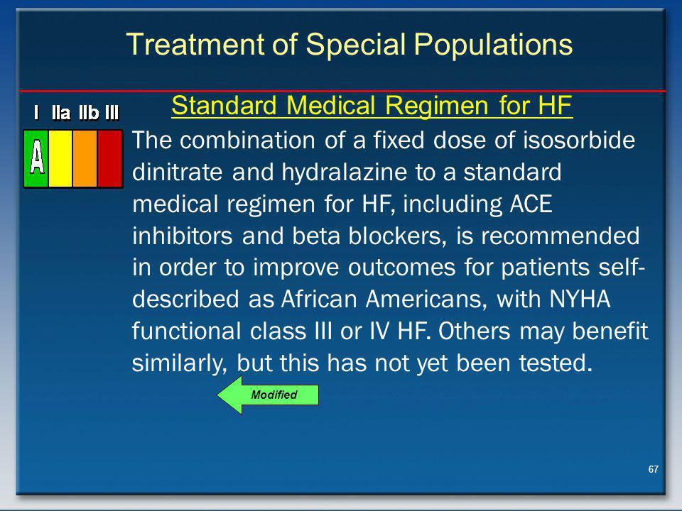 Treatment of Special Populations