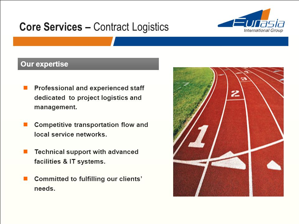Core Services – Contract Logistics
