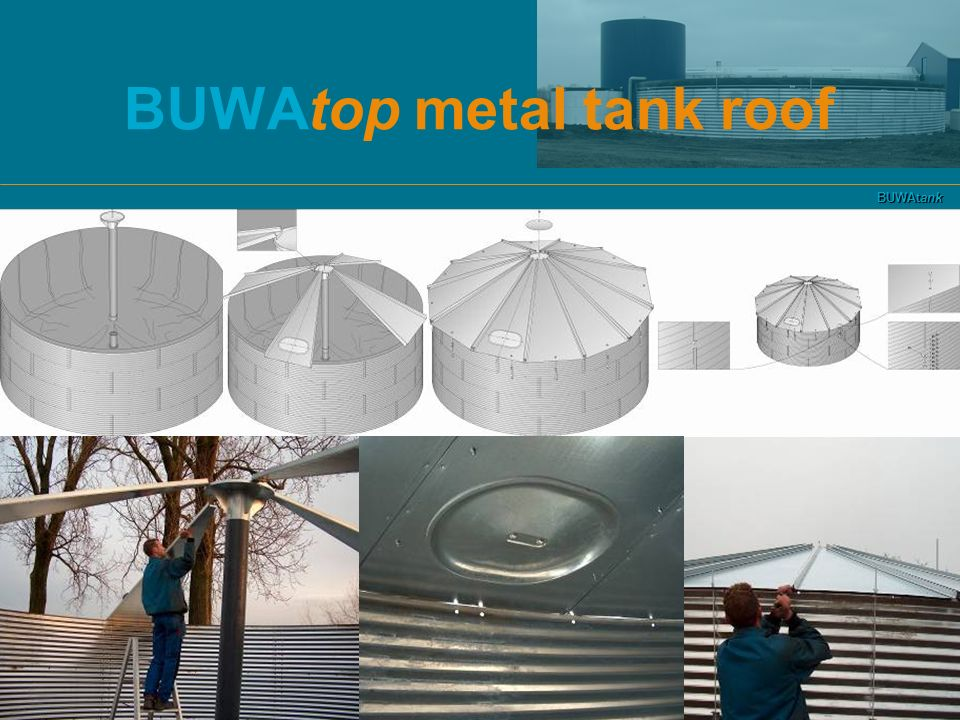 BUWAtop metal tank roof