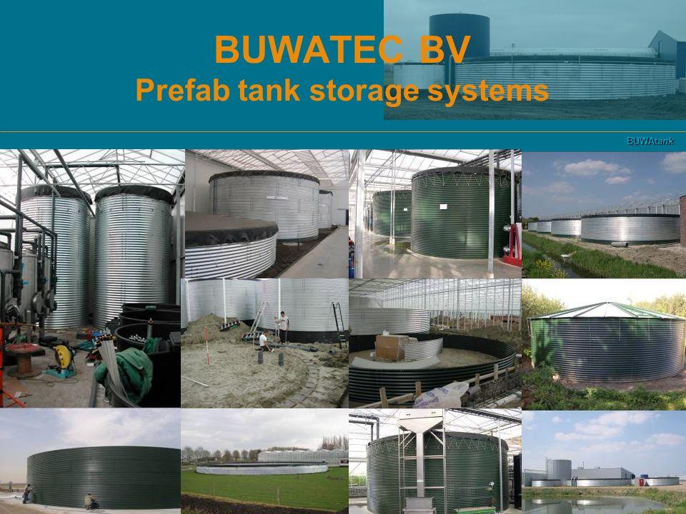 BUWATEC BV Prefab tank storage systems