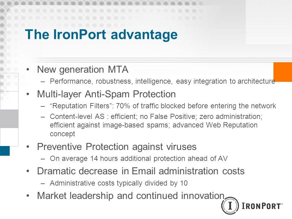 The IronPort advantage