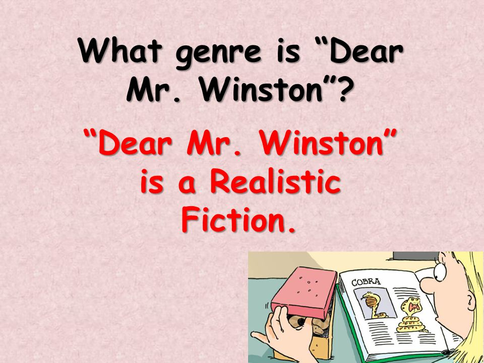 What genre is Dear Mr. Winston