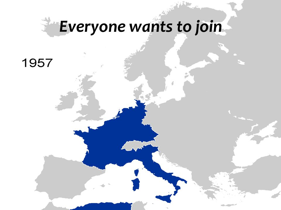 Everyone wants to join