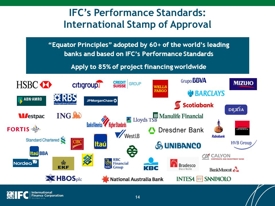 IFC's Performance Standards: International Stamp of Approval