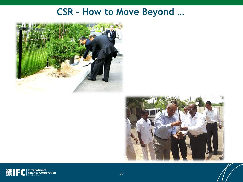 CSR – How to Move Beyond …