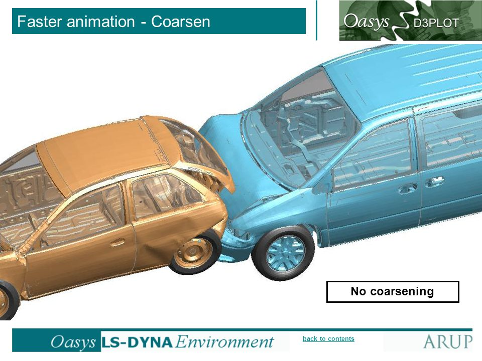 Faster animation - Coarsen