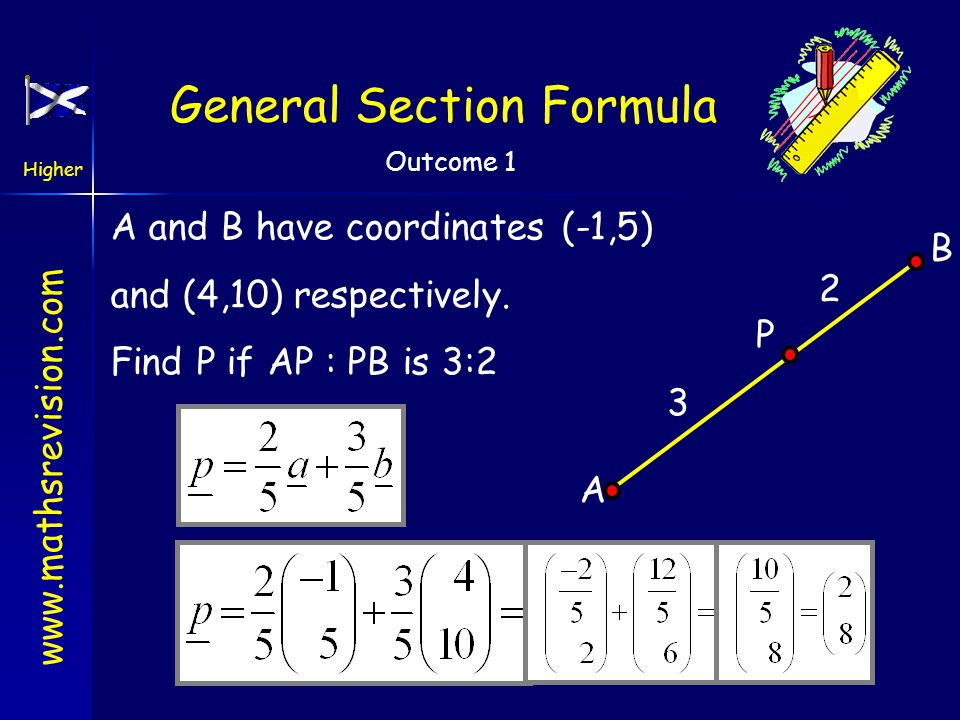 General Section Formula