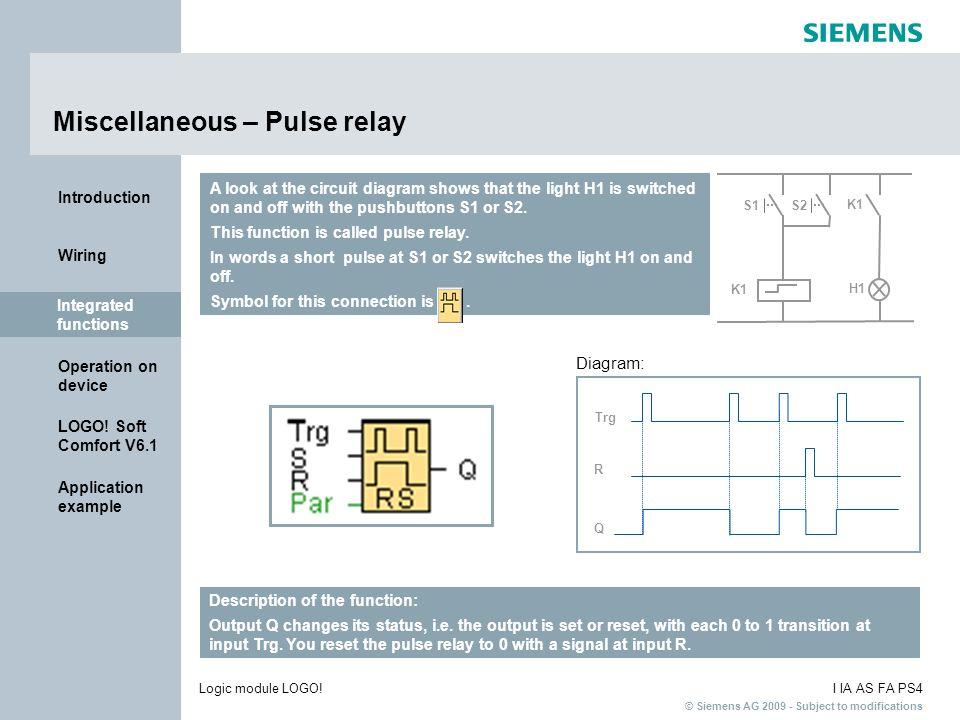 Miscellaneous – Pulse relay