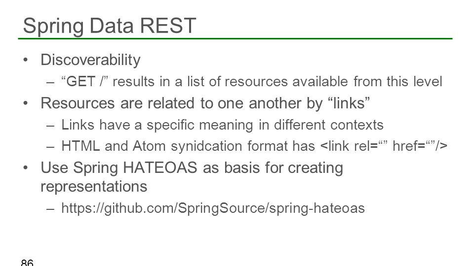 Spring Data REST Discoverability