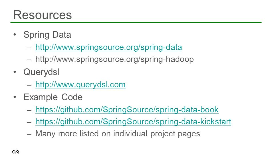 Resources Spring Data Querydsl Example Code