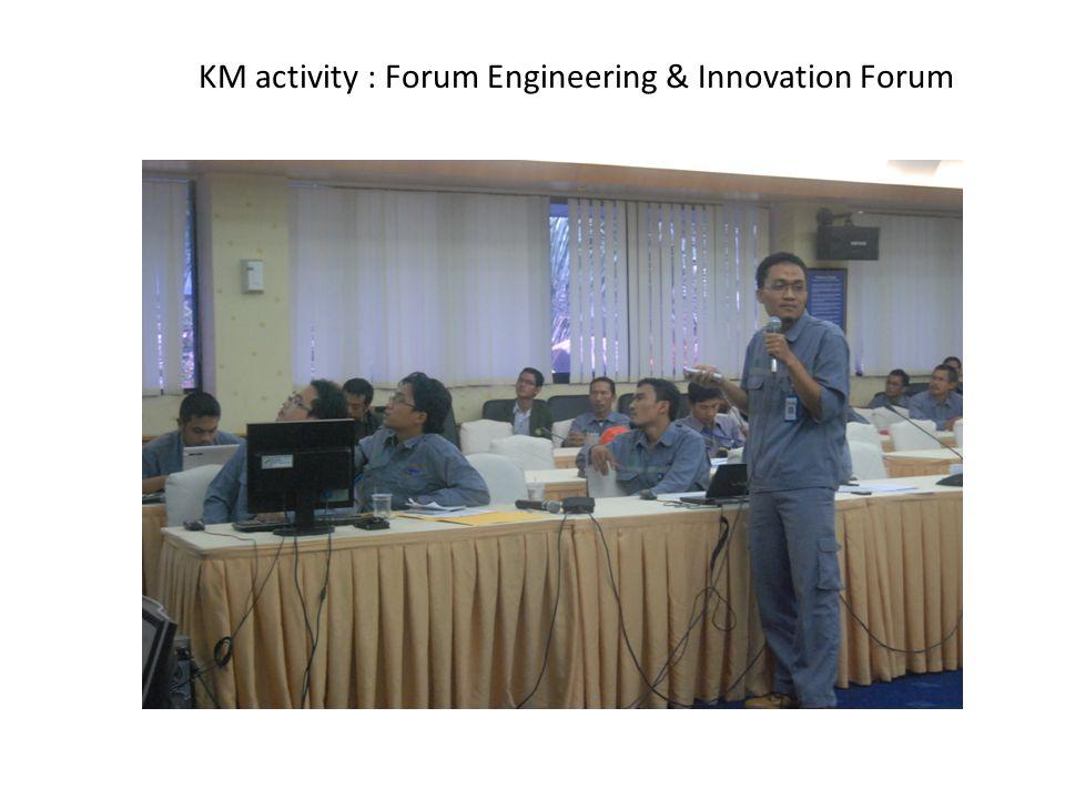 KM activity : Forum Engineering & Innovation Forum