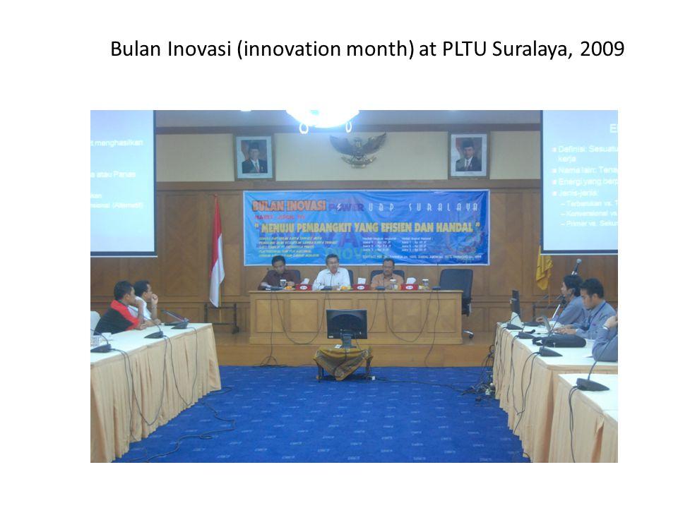 Bulan Inovasi (innovation month) at PLTU Suralaya, 2009