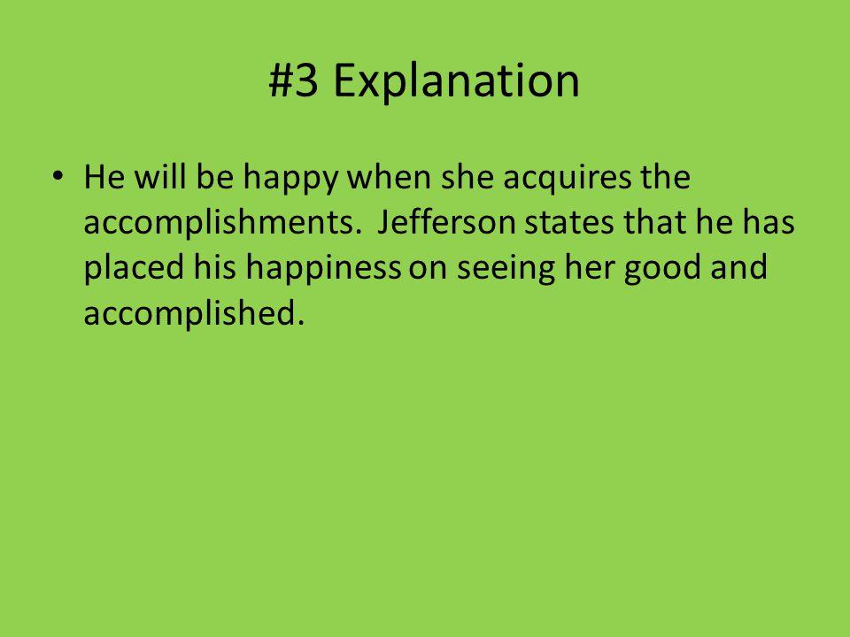 #3 Explanation