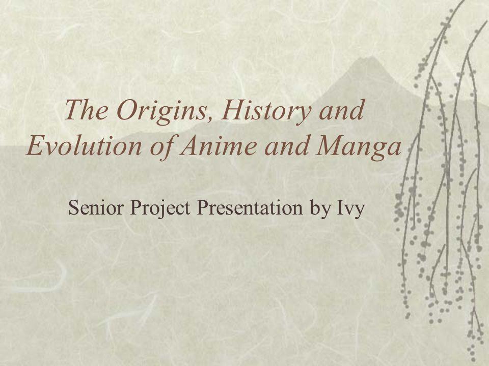 The Origins, History and Evolution of Anime and Manga