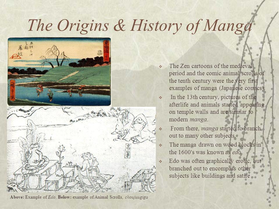 The Origins & History of Manga