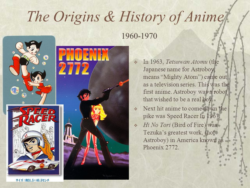 The Origins & History of Anime