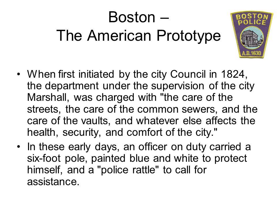 Boston – The American Prototype