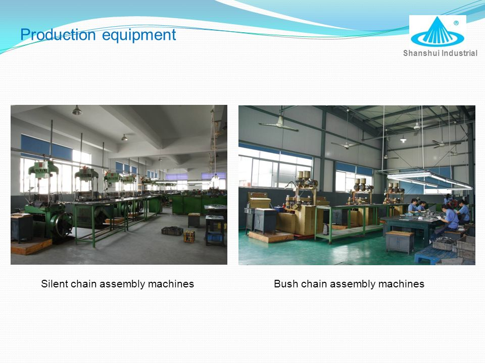 Production equipment Silent chain assembly machines