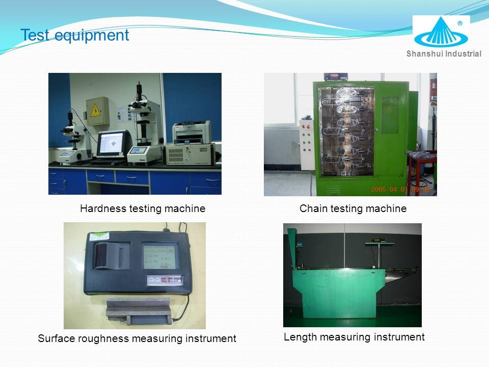 Test equipment Hardness testing machine Chain testing machine
